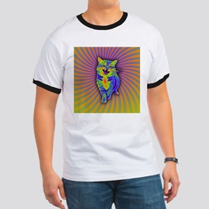 Psychedelic Kitty T-Shirt
